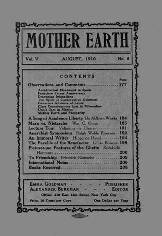 Mother Earth Vol 5 No 6